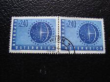 AUTRICHE - timbre yvert et tellier n° 855 x2 obl (A23) stamp austria