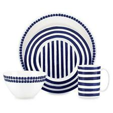 NEW Charlotte Street North Blue 4-Piece Place Setting (MISSING PLATE) Kate Spade