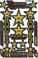 Nue Rockstar Energy Racing Supercross Aufkleber stickers set. 1 sheet (st196)