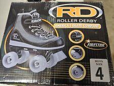 Roller Derby 1378-2 Youth Firestar Roller Skate Size JR 13 Black/Gray