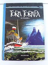 SPIROU ET FANTASIO  FOURNIER  TORA TORAPA   EO  DUPUIS 1973   DOS ROND