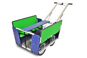 Krippenwagen 6 Sitzer, mit Klapplenker