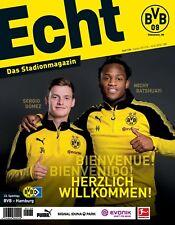 Programmheft # 138 - BVB 09 / HSV Hamburger SV ~ Batshuayi ~ Gameday Magazine