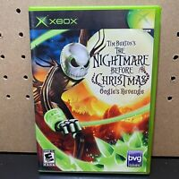 Nightmare Before Christmas: Oogie's Revenge (Microsoft Xbox, 2005) CIB Tested