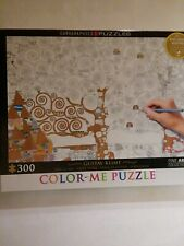 Color-Me PUZZLE.  GUSTAV KLIMT~TREE OF LIFE~300 pieces~NEW in box