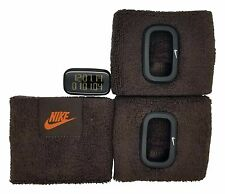 New Nike Cuff 3pc WR0094 Brown Sports Fitness Arm Band Watch