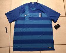 Nike Greece National Team 2018 Soccer Blue Away Jersey Men s 2xl 667e34f6f