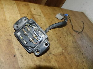 Sicherungskasten m.Lenkerhalter / fuse box / Honda FT 500-PC07
