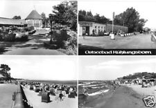 AK, Ostseebad Kühlungsborn, vier Abb., u.a. Milchbar, 1979