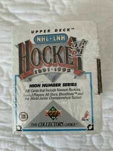 UPPER DECK NHL-LNH 1991-1992 HOCKEY  HIGH NUMBER SETS
