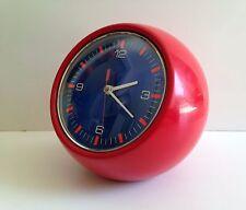 SUPERBE horloge à POSER  Des Années  70's Grande Taille NO Réveil