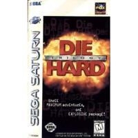Die Hard Trilogy For Sega Saturn Vintage 0E