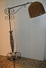 Lampadaire /Bras de lumière ferronnerie Art Déco.