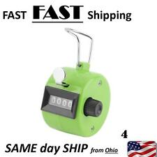4 Digit Number Manual Hand Handheld Tally GOLF Mechanical Palm Clicker Counter