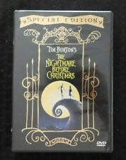 TIM BURTON'S The Nightmare Before Christmas RARE (DVD, 2000 Special Edition) NEW
