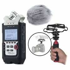 Zoom H4n PRO 4-Channel Recorder Kit w/ Deadcat Windscreen, Shockmount, Mic Grip