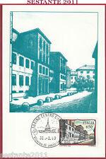 ITALIA MAXIMUM MAXI CARD LICEO GINNASIO GIUSEPPE PARINI MILANO 1989 TORINO B861