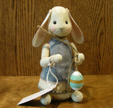 "Jim Shore RIVER'S END #4051564 BUNNY, 8.5"" New From Retail Store, indoor/outdoor"