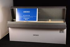 Seiko SARB017 packaging box and user manual.
