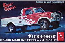 AMT 1978 Firestone Ford Pickup Truck model kit 1/25