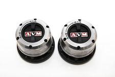 AVM 433 Manual Free Wheel Hubs Pair - Isuzu Pick Up TFS54 2.5TD / TFS77 3.0TD