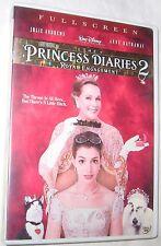 Princess Diaries 2: Royal Engagement DVD, 2004, Full Frame FREE SHIPPING U.S.A.