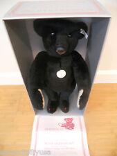 "Rare! Steiff 1907 Black Bear 16"" Limited Edition 4000 Box Certi Mint Ean 0173/40"