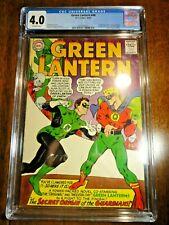 Green Lantern #40 Silver Age Key CGC 4.0 VG 1st Krona Crisis Origin Guardians DC
