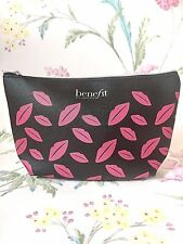 Benefit Branded Beauty Make Up Cosmetic Bag ~Absolutely Gorgeous! 1st Class Post