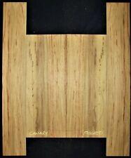 Guitar Luthier Tonewood STRIPED CANARYWOOD Acoustic backs sides set
