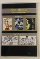 Don Stroud Professional Reel Editing DVD Storyboards  Avid, Imageready  (159A)