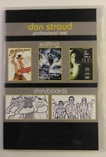 Don Stroud Professional Reel DVD  Editing  Storyboards  Avid, Imageready  (159A)