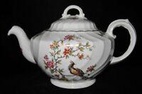Royal Crown - Staffordshire, England - Bird, Pheasant or Peacock - Tea Pot