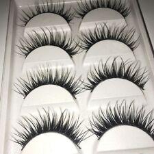 Mini Best Quality Cross Fake Beauty 5 Pairs False Eyelashes Handmade Makeup