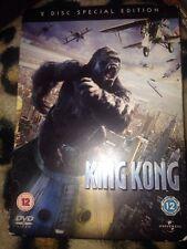 King Kong (DVD, 2006, 2-Disc Set) In Good Condition Naomi Watts & Jack Black