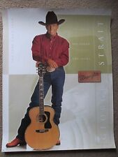 George Strait Promo Poster Advertisement for Wrangler Concert Tour 2003