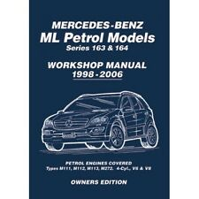 Mercedes ml ML230 ML320 ML350 ML370 ML430 ML500 163 y 164 Manual de taller mblpwh