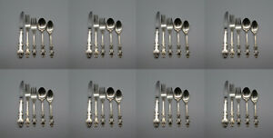 Reed & Barton Silverplate English Crown Service for Eight - 40pc Set *