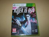Killer Is Dead: Limited Edition Xbox 360 ** New & Sealed**