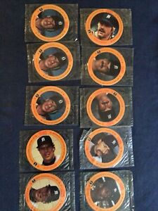 1987 CAIN'S Potato Chips DETROIT TIGERS lot of 10 -6 different - Gibson