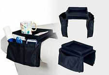 Smart Armrest Organizer 6 Pocket Organizer Adjustable to Fit Couch or Chair.