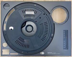 TECHNICS SL1210 / 1210 MK2 RARE LATE SPEC (2004) TOP PLATE / CHASSIS / BODY.