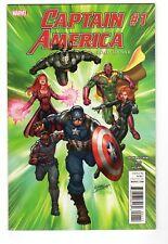 Captain America: Road to War #1 - Marvel Comics 2016 - 1st Print Vf/Nm