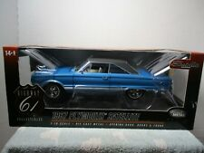 1/18 HIGHWAY 61 BLUE 1967 PLYMOUTH SATELLITE