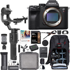 Sony a7R IV Mirrorless Camera Body ILCE-7RM4 DJI Ronin-SC Gimbal Filmmaker's Kit