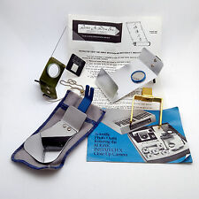 Kodak Scientific Photo Outfit Accessories for the Kodak Instatech X (No Camera)