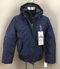 NEW Point Zero Men's Blue Heavy Winter Ski COAT JACKET (Size Medium) NWT $325