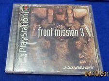 PS1 - Front Mission 3 III ~ Complete ORIGINAL Game ~ Disc is Excellent! ~