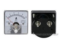 0 - 10 A DC Einbau Messinstrument Analog Amperemeter mit Shunt - CLASS 2,5