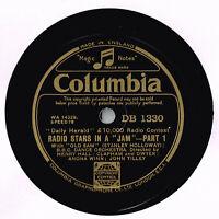 DAILY HERALD £10,000 RADIO CONTEST 78 - RADIO STARS IN A JAM - WILL HAY EX+